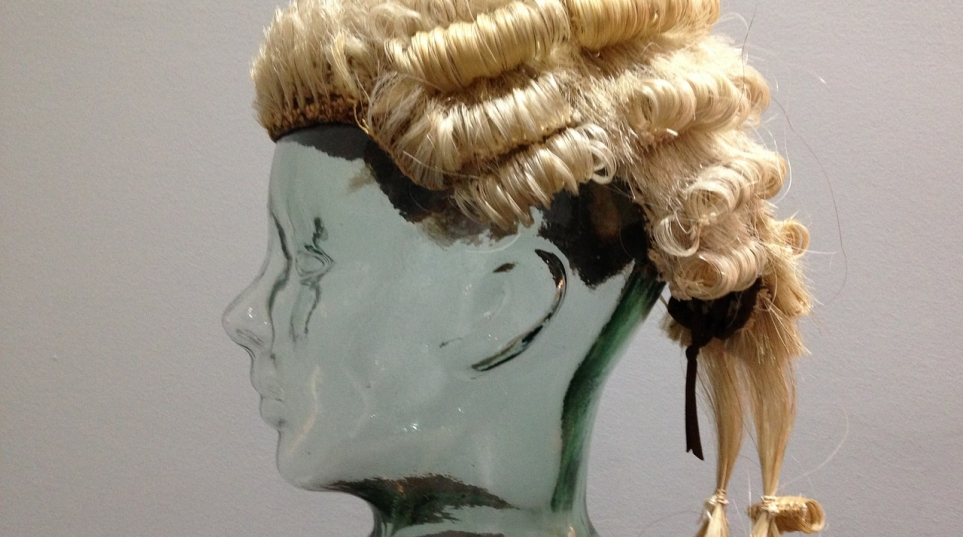 A barrister's wig