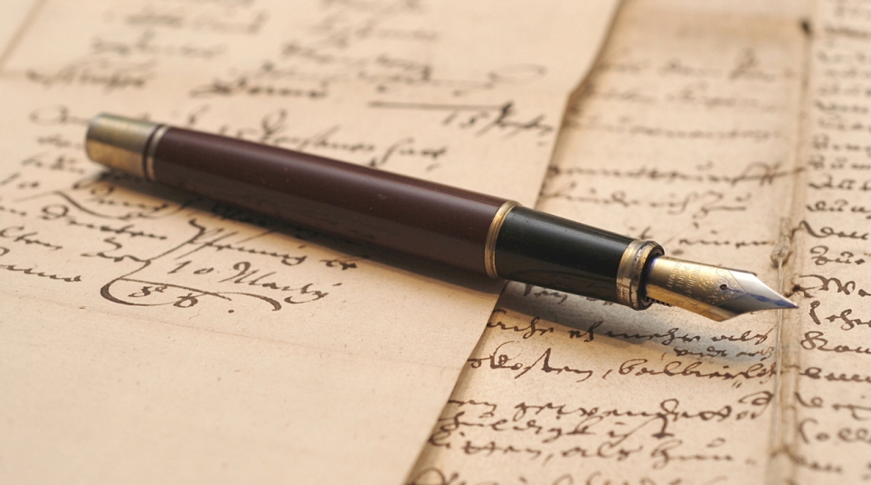 Whether you use a vintage fountain pen or note, a larke v Nugus statement will be useful evidence in a will dispute