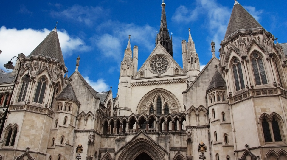 image of the royal courts of justice London